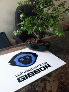 Elmo Whispering Gibbon