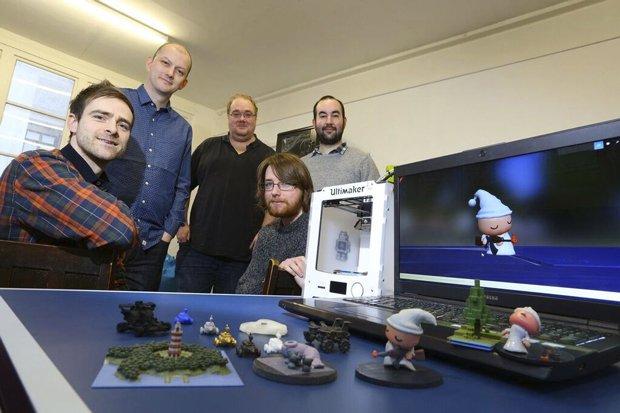Whispering Gibbon Team: Joe, Simon, John, Kyle and Toni